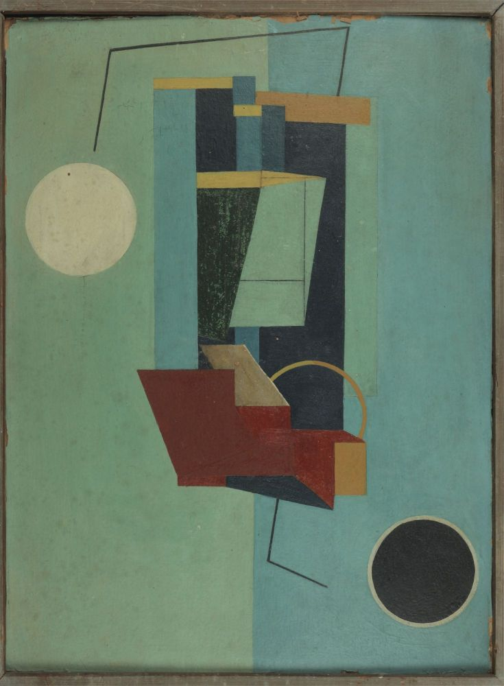 Untitled Abstraction. Kenneth REXROTH.