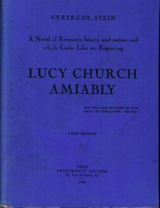 Lucy Church Amiably: A Novel of Romantic Beauty and Nature and Which Looks Like an Engraving by...
